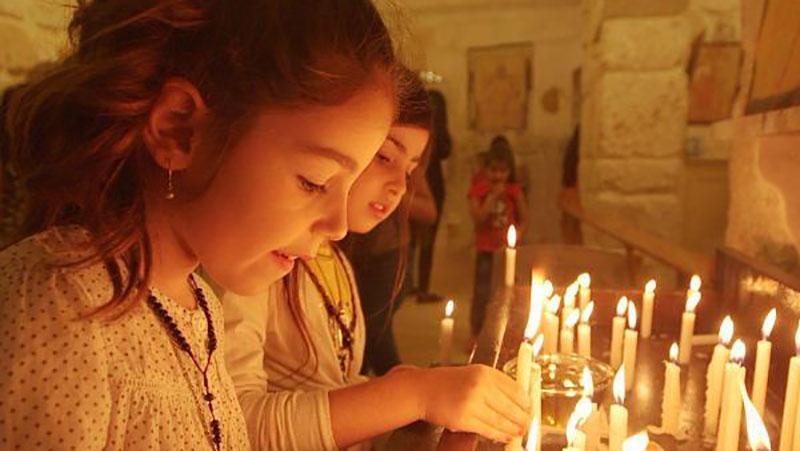 «زخم صلیب» شهدای مسیحی سوریه، اثر «محمدفرج صالحی»