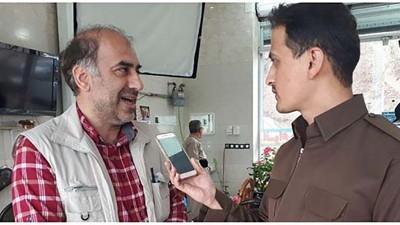 سالار بی باک کارگردان مستند پاوه و هورامان