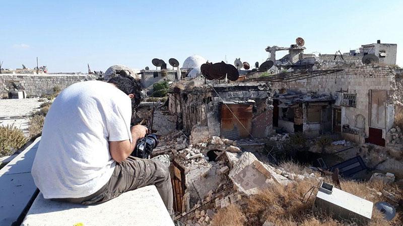 مستند «حلب، سکوت جنگ»