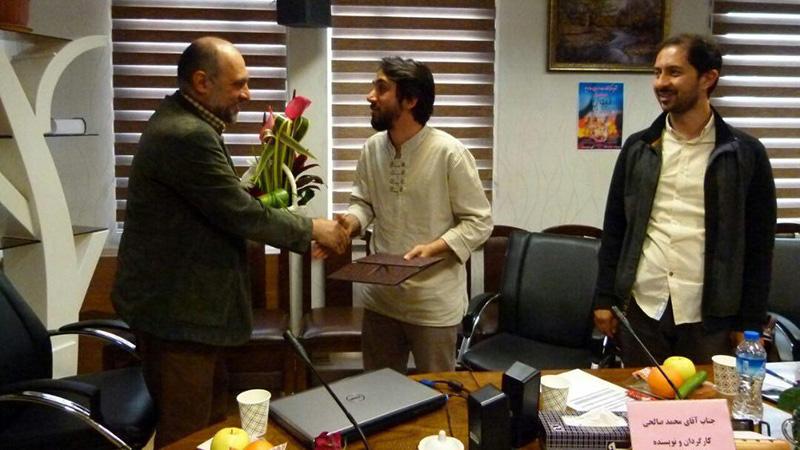 تقدیر مرکز نظارت و ارزیابی صدا و سیما از «محمد فرج صالحی» نویسنده و کارگردان مستند «لیوان»+تصاویر