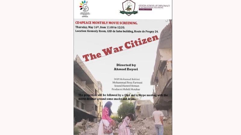 نمایش مستند «همشهری جنگ» در دانشگاه ژنو
