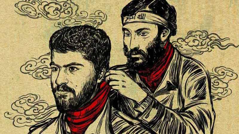 وصالی و تیموری از نگاه «دستمال سرخ ها»