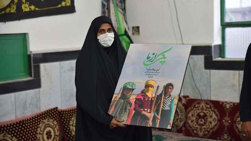 ساکنان سلمان فارسی به تماشای «من یک زنم» نشستند